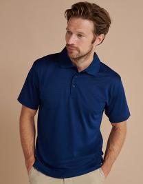 Coolplus® Textured Stripe Polo Shirt