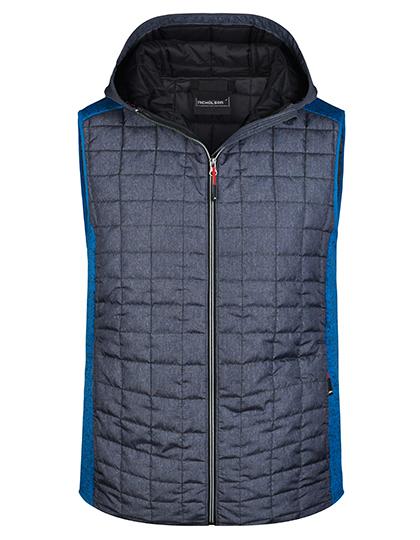 Men´s Knitted Hybrid Vest